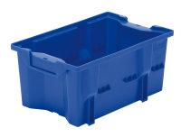 Drehlagerkasten DLK 2c, Farbe blau, 328x210x150 mm
