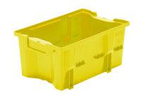 Drehlagerkasten DLK 2c, Farbe gelb, 328x210x150 mm