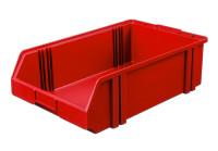 Sichtlagerkasten LK 1c, rot, 500x300x145 mm