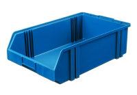Sichtlagerkasten LK 1c, blau, 500x300x145 mm