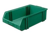 Sichtlagerkasten LK 1c, grün, 500x300x145 mm