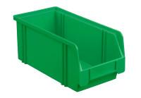 Sichtlagerkasten LK 3a, grün, 290x140x130 mm