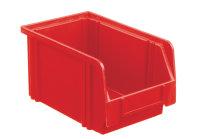 Sichtlagerkasten LK 3, rot, 230x140x130 mm