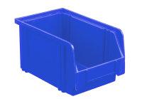 Sichtlagerkasten LK 3, blau, 230x140x130 mm