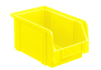 Sichtlagerkasten LK 3, gelb, 230x140x130 mm