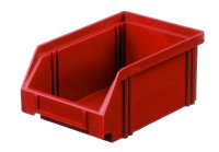 Sichtlagerkasten LK 4, rot, 160x105x75 mm