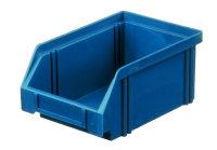 Sichtlagerkasten LK 4, blau, 160x105x75 mm