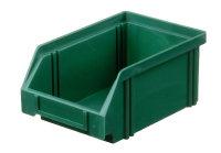Sichtlagerkasten LK 4, grün, 160x105x75 mm
