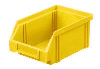 Sichtlagerkasten LK 4, gelb, 160x105x75 mm