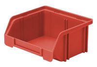 Sichtlagerkasten LK 5, rot, 85x105x45 mm