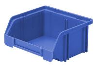 Sichtlagerkasten LK 5, blau, 85x105x45 mm