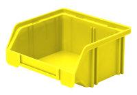Sichtlagerkasten LK 5, gelb, 85x105x45 mm
