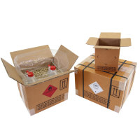 Gefahrgut-Karton 2-wellig, 325 x 245 x 300 mm, Inhalt 23 l, braun