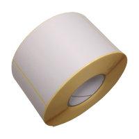 Haftetiketten aus Papier, 150x100mm (LxB), blanko weiß