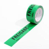 ISO-Klebeband, 50mm breit x 66 lfm, grün, Aufdruck...