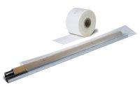 LDPE-Schlauchfolie,  300 mm breit x 250 lfm  -   100 µ