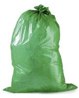 Müllsäcke 120l,  700 x 1100 mm  -   grün,...