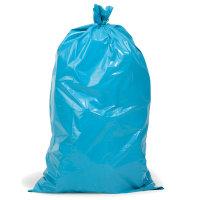 Müllsäcke, 575 x 1000 mm, Inhalt 70 l, blau