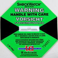 Shockindikator Shockwatch grün