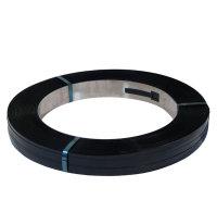 Stahlband, gebläut - 16 mm breit x 0,5 mm Stärke, 700 lfm.,in Scheibenwicklung