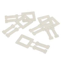 Verschlussklammern, 13 mm breit, Typ: Kunststoffklammer
