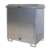 Gefahrstoff-Depot GD-N 2, verzinkt, 1440x1015x1615 mm
