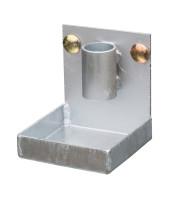Tropfwanne für Auffangwannen mit Lochplattenwand Typ LPW, 100x100x110 mm