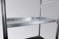 zusätzlicher Wannenboden für KG-GR 100 W, verzinkt