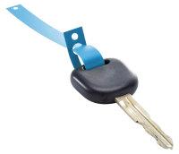 Schlüsselanhänger aus HDPE Folie