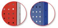 Lochplatten-Seitenblende - 1000x600 mm, HxT