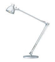 LED-Tischleuchte Valencia in Silber