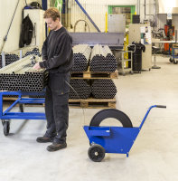Bandwagen, 990x460x640 mm, Blau