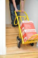 Gepäck- & Sackkarre, 870x510x1225 mm, 200 kg Tragfähigkeit, Gelb