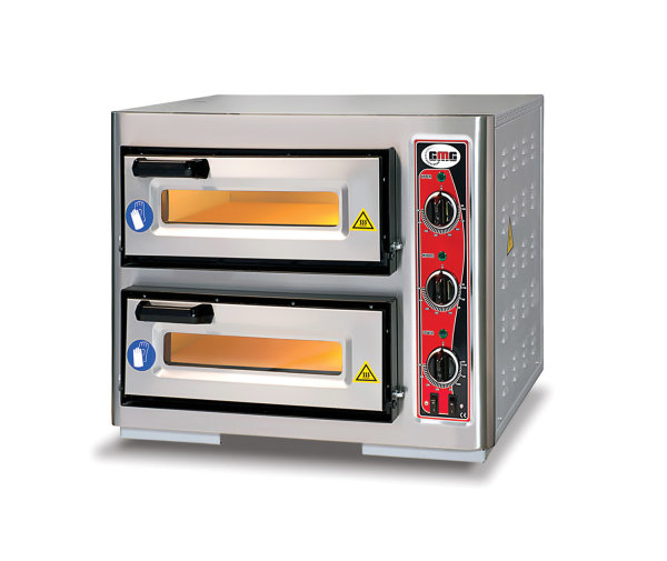 Pizzaofen CLASSIC PF 4040 DE3, 2 Backkammer