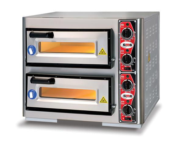 Pizzaofen CLASSIC PF 4040 DE4, 2 Backkammer