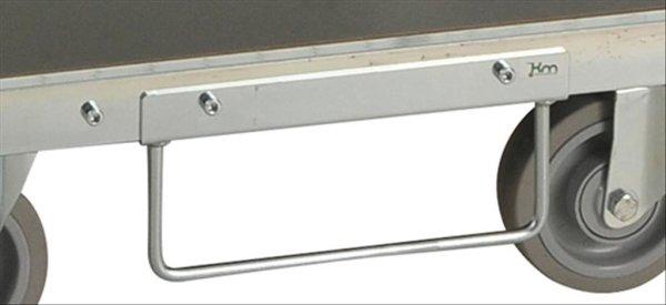 Modul 600 Gabelstapler Set, 250x100 mm, Elektrolytisch verzinkt
