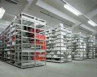 Fachboden-Regal ECONOMY, einseitig, verzinkt, bis 190 kg Fachlast